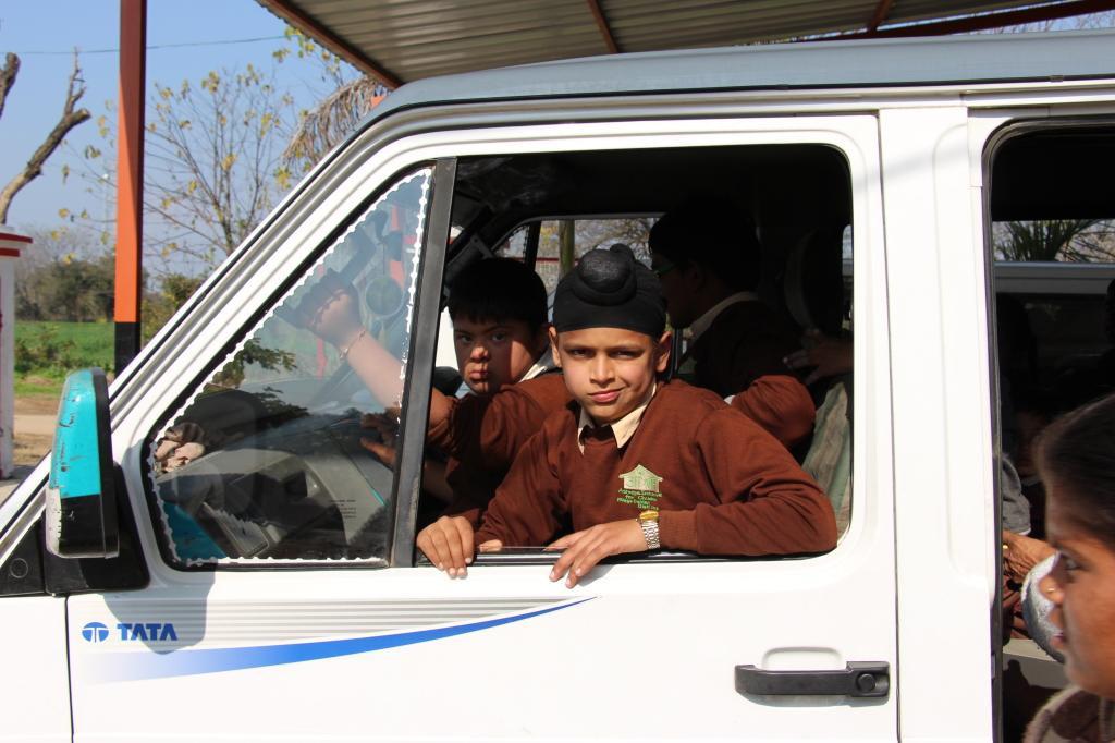 Children on board
